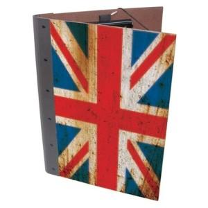 Klemmap van Werkhaus met Britse vlag