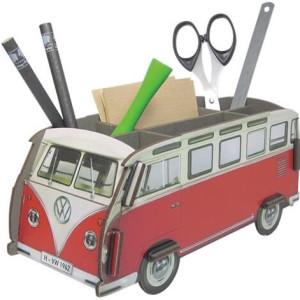 Pennenbakje Werkhaus Volkswagenbusje rood