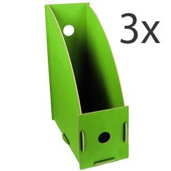 Groene tijdschriftcassettes van Werkhaus