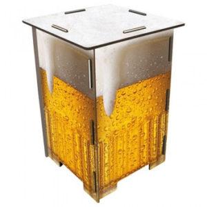 Hocker van Werkhaus met afbeelding van een biertje