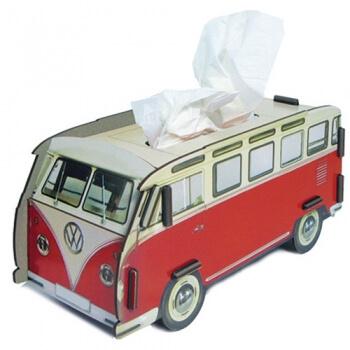 tissuedoos vw bus rood het mooiere werk. Black Bedroom Furniture Sets. Home Design Ideas